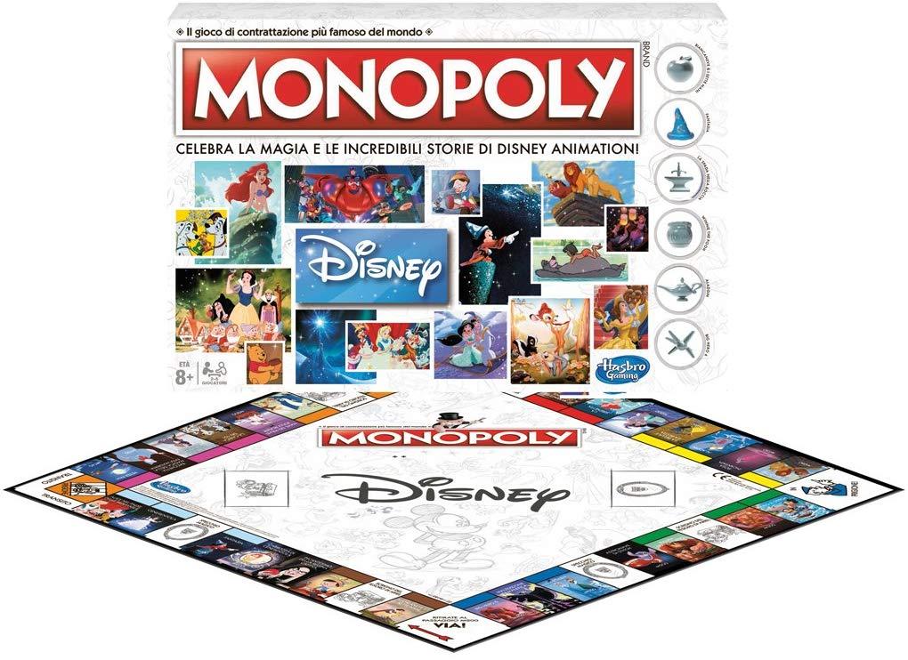 Monopoly Disney Gioco in Italiano: Recensione, Prezzo e Offerte - Il Gioco  del Monopoly